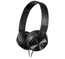 Sony  MDR-ZX110NC Noise Canceling Headphones, Black | MDRZX110NAB.CE7  | 4905524987355